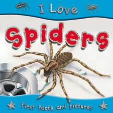 I Love Spiders, 1842368249, New Book