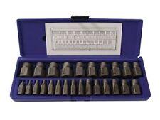IRWIN/HANSON #53227  25 Pc. Hex Head Multi-Spline Screw Extractor Set