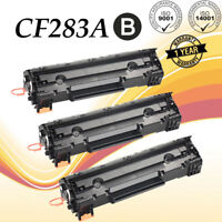 3PK Compatible CF283A 83A Toner Cartridge For HP LaserJet Pro MFP M225dn M225dw
