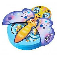 Maestrani MUNZ BUTTERFLY SHAPE TIN + CHOCOLATE 90g (beu)