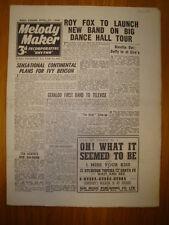 MELODY MAKER 1946 #666 JAZZ SWING MUSIC ROY FOX BENSON