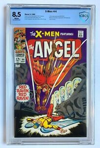 X-MEN #44, Marvel Comics, CBCS 8.5 not CGC, 1st Silver Age Red Raven