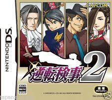 Used DS Capcom Gyakuten Kenji 2  NINTENDO JAPANESE IMPORT