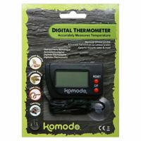 Komodo Digital Thermometer Snake Reptile Vivarium Temperature Gauge Meter 82403