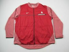 Oklahoma Sooners Nike Jacket Men's Maroon Poly Used 3XL