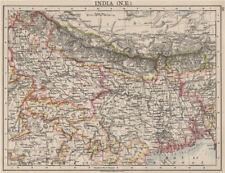 BRITISH INDIA ne. BENGALA Nepal Bhutan Calcutta Bangladesh. Johnston 1900 MAPPA