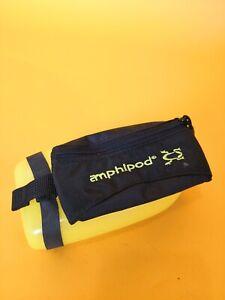 Amphipod Hydraform Handheld Pocket Black Green Ergonomic Bottle 12oz BPA Free