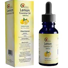 Lemon Essential Oil Therapeutic Grade Aromatherapy for Diffuser - 100% Pure Cold