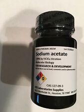 Sodium acetate, >99% by HClO4 titration, Molecular Biology, 30 gm