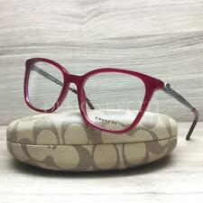 Coach HC 6113 Eyeglasses Aubergine 5503 Authentic 53mm