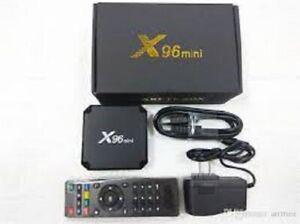 X96 Mini S905w 2g 16g Android 7.1 Nougat 4k Quad Core Smart TV Box WiFi Mini PC
