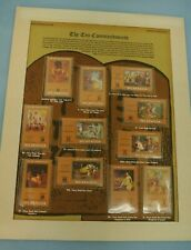 VINTAGE POSTAL COMMEMORATIVE SOCIETY WORLD OF STAMPS TEN COMMANDMENTS NICARAGUA