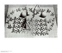M C ESCHER ~ MAGIC MIRROR ART POSTER MC M.C.