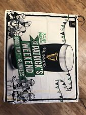 Guiness St Patricks Day Paddys Day Banner Flag Pun Shed Bar Man Cave