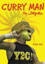 BEST OF CURRY MAN DVD set Tiger mask Jushin Liger Wrestling Sasuke