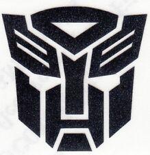 REFLECTIVE Transformers Autobot Decal Sticker fire helmet window yeti