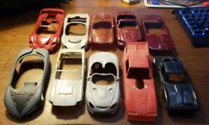 Lot of model car bodies #3