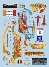 DECALS 1/43 PEUGEOT 207 S2000 #8 LOIX - RALLYE IRC D'YPRES 2009 - COLORADO 43253