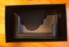 Mr. Stone Half Case for Leica M240/ MP240 - Black Leather