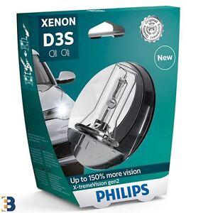 Philips X-tremeVision Gen2 D3S 42V 35W Xenon Auto Lampe 4800K 1 Stück 42403XV2S1