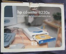 HP CD-Writer 8230e in Opened Box all Paperwork & CD driver & Setup