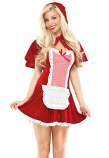 Sexy Adult Halloween Little Red Riding Hood Costume COQUETTE NEW SZ S/M COSPLAY