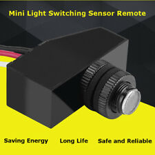 Mini 12V Remote Photocell Dusk To Till Dawn Automatic Light Lamp Switch Sensor