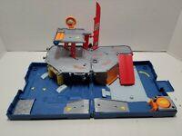 Matchbox J4761 Fold & Go Pop Up Playset 24Hr Garage Towing Service Set Blue 2005
