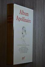 LA PLEIADE / ALBUM APOLLINAIRE  / Ref B20