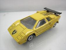 Diecast Edocar Lamborghini 1988 in Yellow Good Condition