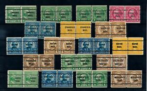 [G42534] USA Good lot precancels stamps Very Fine used
