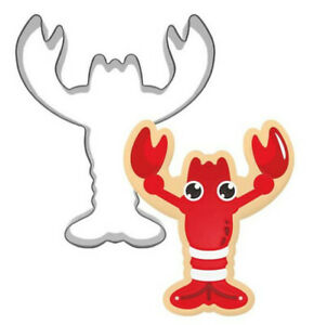 Lobster Style Stainless Steel Cookies Cutters Cake Baking Biscuit Mould Mold