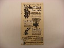Original Columbia Phonograph  Record Catalog List -  May