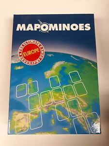 Mapominoes Europe - The Ultimate Geography Game -Wildcard Games