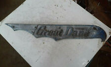 Vintage Great Dane Trailer Emblem