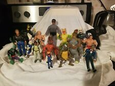 Antique Vintage 80s 70s mixed action figure lot Toy Chest Rare Must See Pics