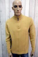 TIMBERLAND Maglione Uomo Taglia M Cardigan Lana Casual Pull Pullover Sweater
