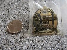 BRAND NEW 75th sec 2008 coaches beach volleyball championships PIN GREAT SHAPE