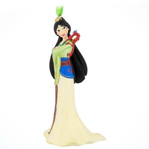 Disney Parks Mulan with Mushu Glitter Dress Ornament Christmas