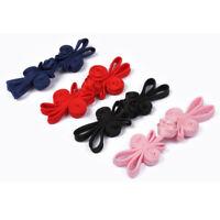 5Pcs Rabbit Design Handmade Knot Frog Buttons Cheongsam Fasteners DIY Sewing New