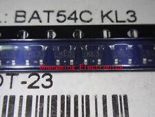 100PCS BAT54C KL3 SOT-23 Transistor