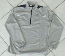 Fila Men's 1/4 Zip Pullover Active Top Gray Xx-Large