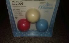 (HTF)!!!!! EOS ALICE IN WONDERLAND-RARE-!!!!! EOS Lip Balm Set
