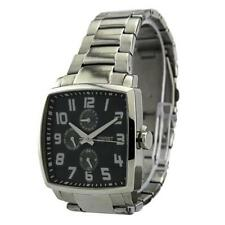 Silver Case Square Wristwatches