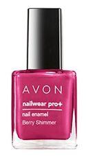 Avon Nailwear Pro + Nail Enamel Berry Shimmer 8ml