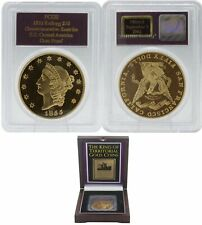 PCGS 1855 Kellogg $50 Gem Proof Commemorative Restrike S.S. Central America Coin