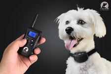 Remote Shock Rainproof PaiPaitek Dog Training Collar Bark Stop System 500 Yard