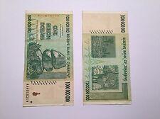 1 Billion Zimbabwe dollar banknote