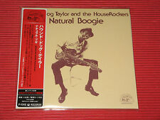 HOUND DOG TAYLOR Natural Boogie   JAPAN MINI LP CD
