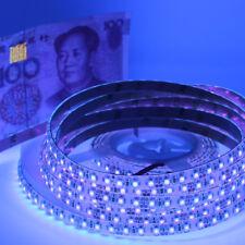 5m UV Ultraviolet LED Strip Light 3528 120leds/m Waterproof Boat Car Blacklight